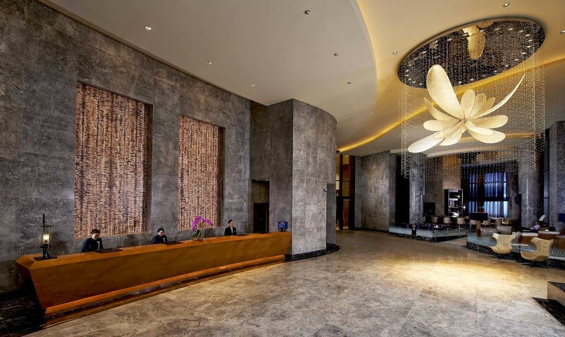 新加坡卡爾頓城市酒店大堂