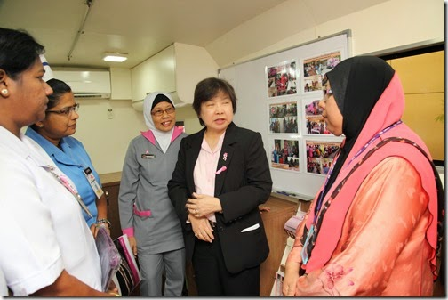 Penang Health Care Event - Pink Women Day 2015 at Loh Guan Lye Specialists Centre, Penang