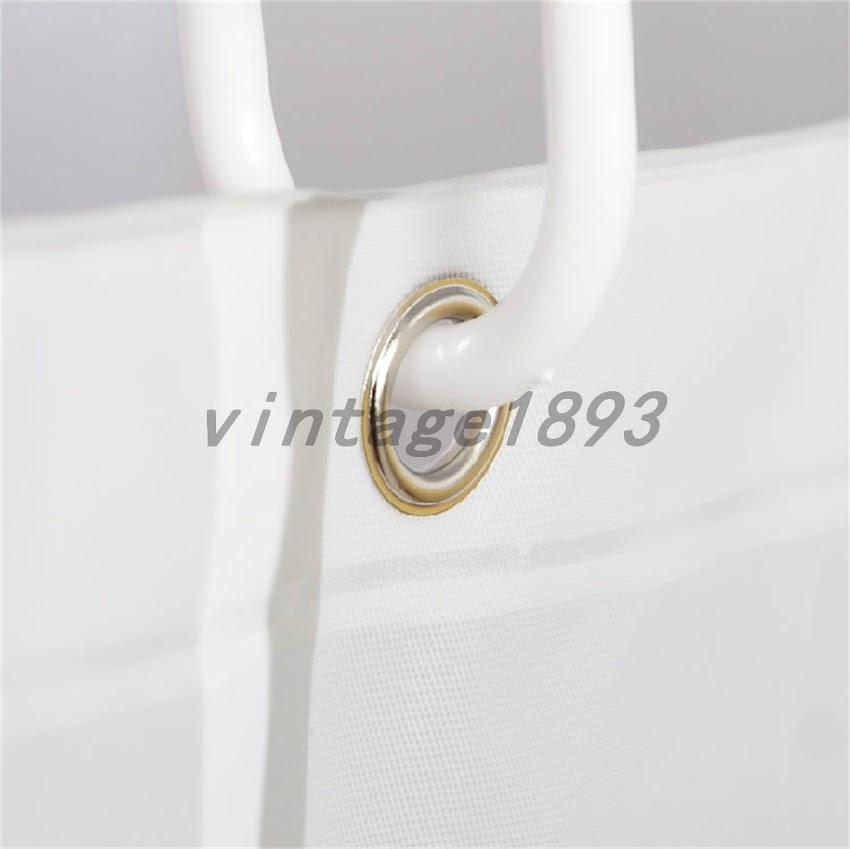 duschvorhang badevorhang 120 150 180 200 240x200cm inkl karo inkl ring ebay. Black Bedroom Furniture Sets. Home Design Ideas