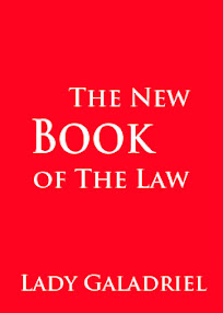 Cover of Lady Galadriel's Book The New Book Of The Law