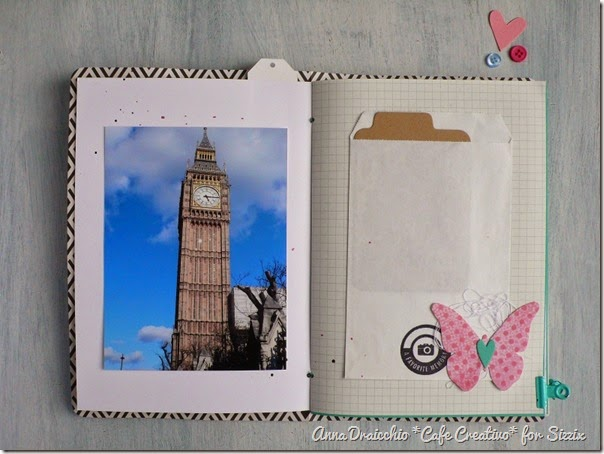 sizzix big shot plus - scrapbooking - mini album - travel journal - by Anna Drai - cafecreativo (5)
