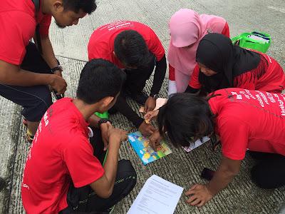 Blogger Treasure Hunt - Aktiviti Checkpoint, Sepetang Bersama Blogger 2015