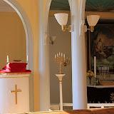 "Lecturn and Altar at The ""Old"" Church -- Qaqortoq, Greenland"