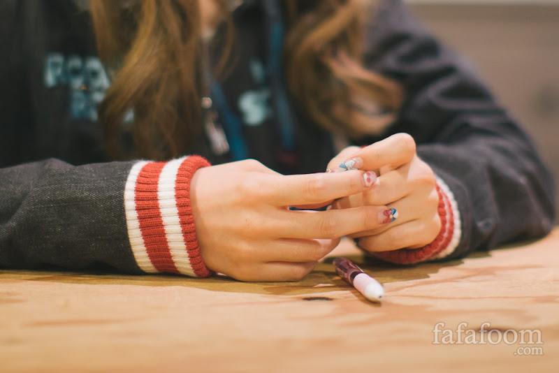 Misa Kimura's nails