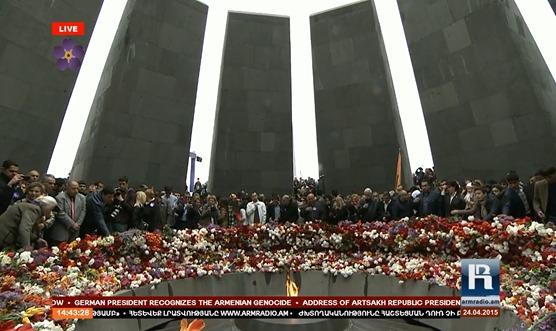 imatge de la commemoracion del genocidi dels Armenians 34