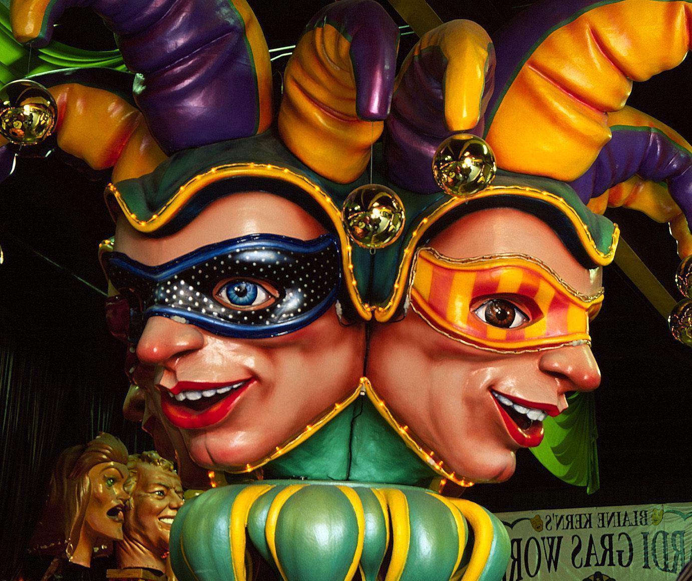 A Month of Mardi Gras in New