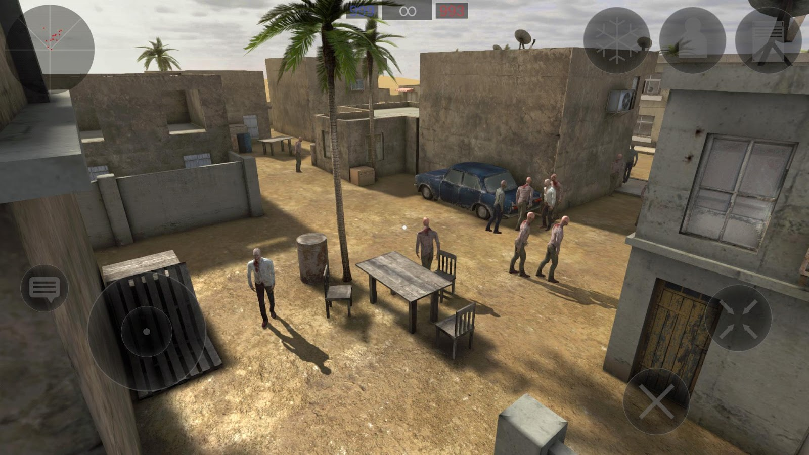 Zombie Combat Simulator Screenshot 1
