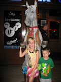 Bryan and Hannah outside the Wildhorse Saloon in Nashville TN 09032011