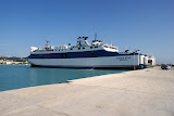 Een ferry (veerboot).