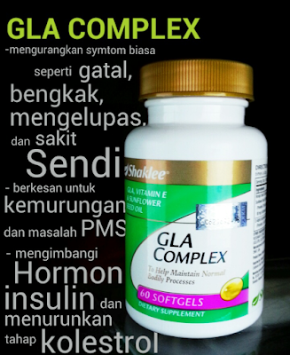 Kebaikan GLA Complex Shaklee