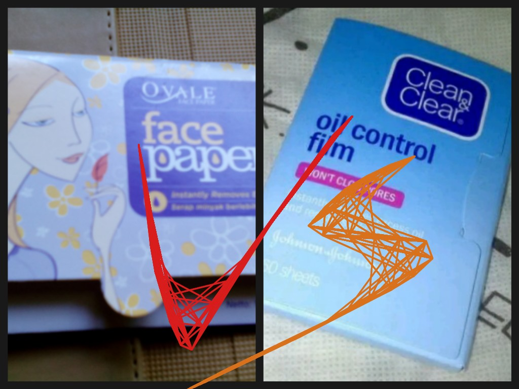 Ranis Latter Ovale Vs Cleanclear Face Paper Versus