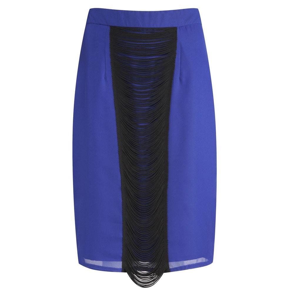Valentino Skirt Midnight Blue