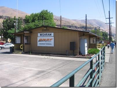 IMG_7804 Depot in Wishram, Washington on July 3, 2009