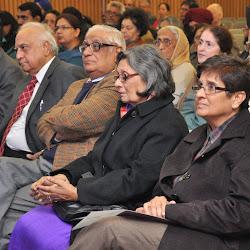 From Left: Upinder Singh, Jansher Singh, Hari Jaisingh, H K Dua, Aditi Dua and Kiran Bedi