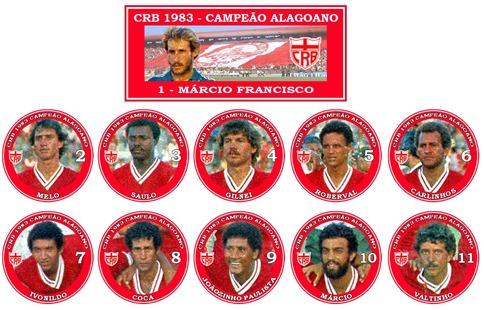 104 - CRB 1983 - Campeão Alagoano