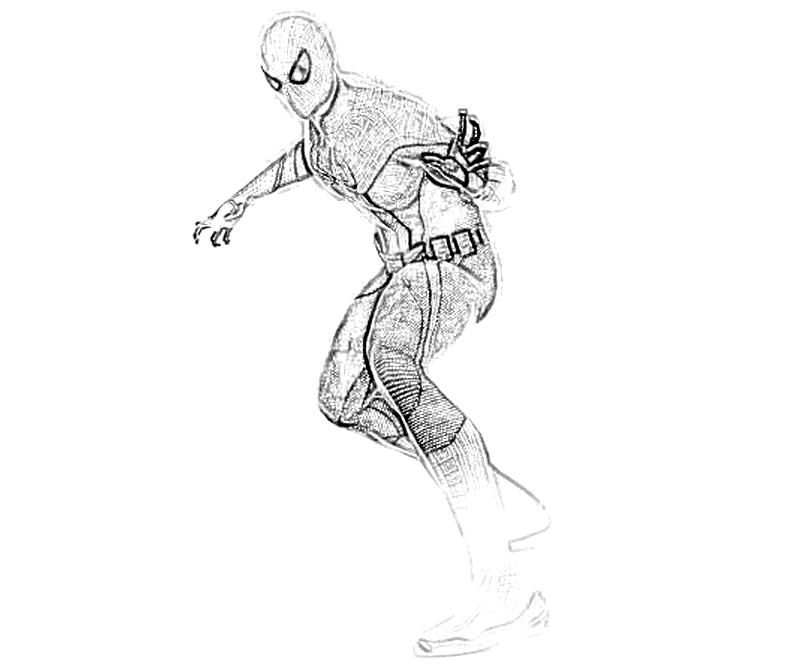 The Amazing Spider Man Lizard Coloring Pages
