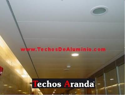 Trabajo de Montaje Techos Aluminio