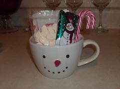 snowman soup mug