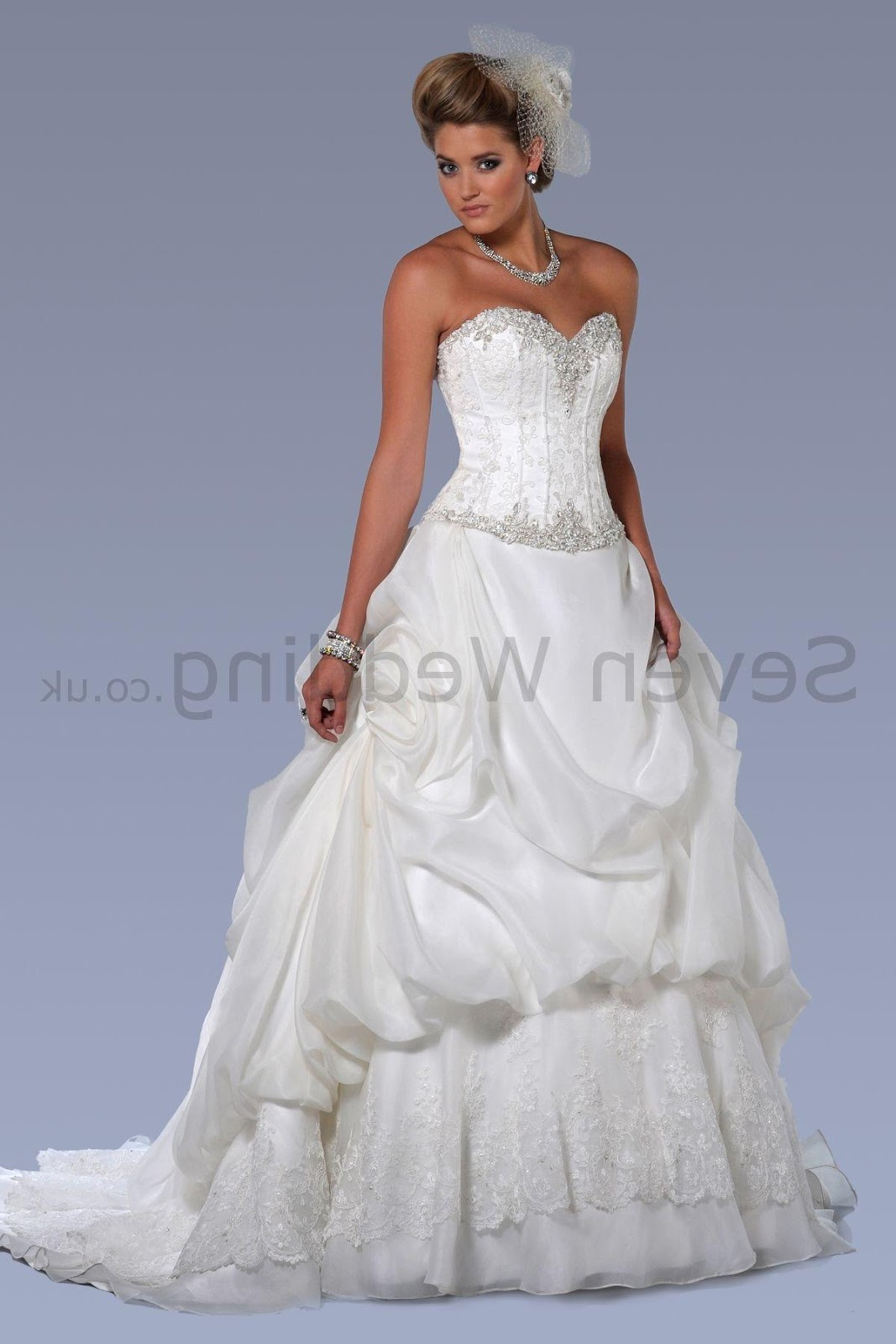 Lace Ball Gown Sweetheart