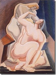 Alexander-Porfiryevich-Archipenko-Two-Nude-Female-Figures-Seated-and-Bending--S