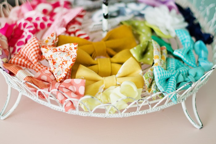How to Make Super Easy Fabric Bows  (25)