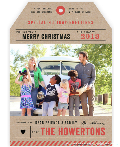 minted holiday photo cards howerton family 2015
