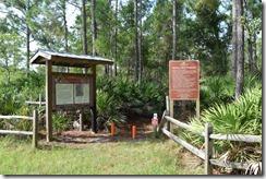 Hickory Bluff Preserve Trailhead 2