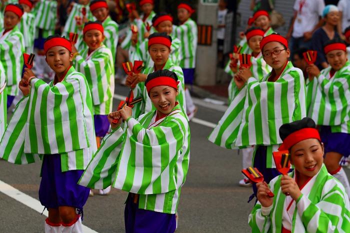 第59回よさこい祭り☆本祭1日目・升形地域競演場71☆上1目2003