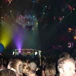 the DJ stage at sensation black in Amsterdam, Noord Holland, Netherlands