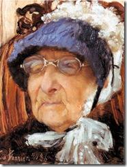 portrait of Hannah Marcus (1886), eva bonnier