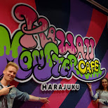 Kawaii Monster Cafe in Harajuku in Harajuku, Tokyo, Japan