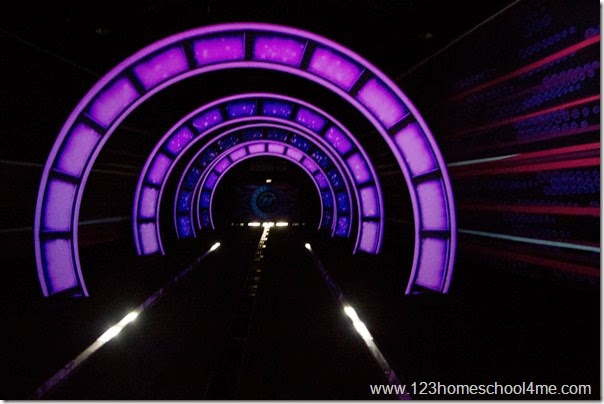 Test Track Ride at Epcot
