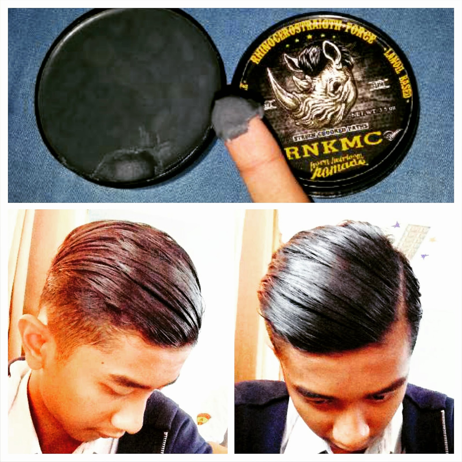 thx rinokamacho hairpomade • NB diriview dengan rambut ikal panjang CINTAI PRODUK LOKAL reviewpomade reviewrinokamacho pomade pomadeoilbased