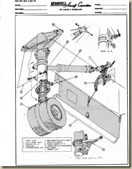 Aviation Archives: F4H-1 Forward Fuselage and Landing Gear