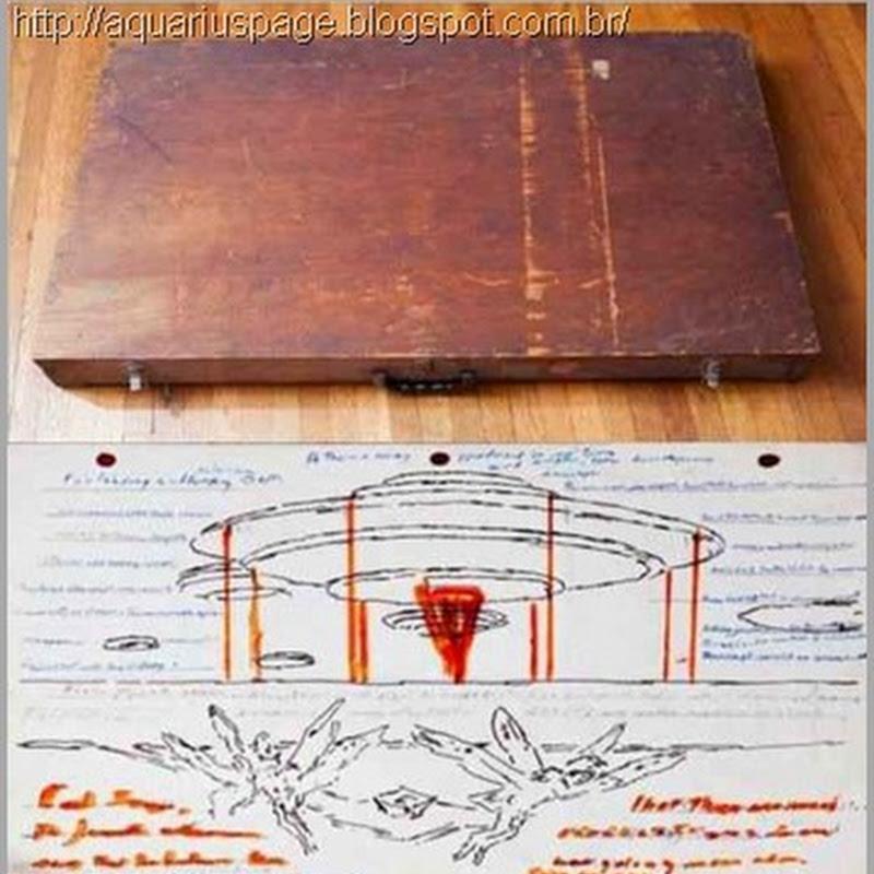 A Misteriosa Caixa com Aliens e Óvnis como na descrição do profeta Ezequiel