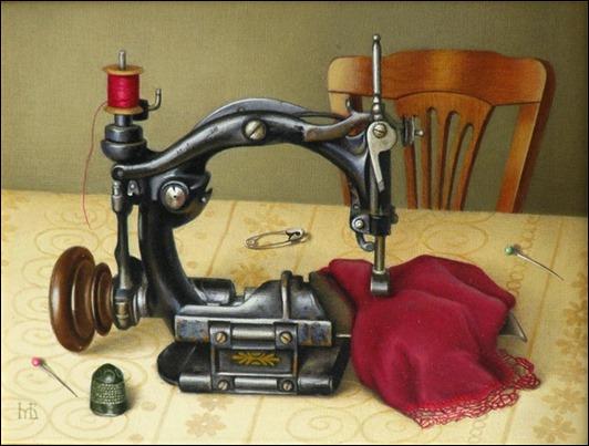 Подарок швейная машина стихи 14