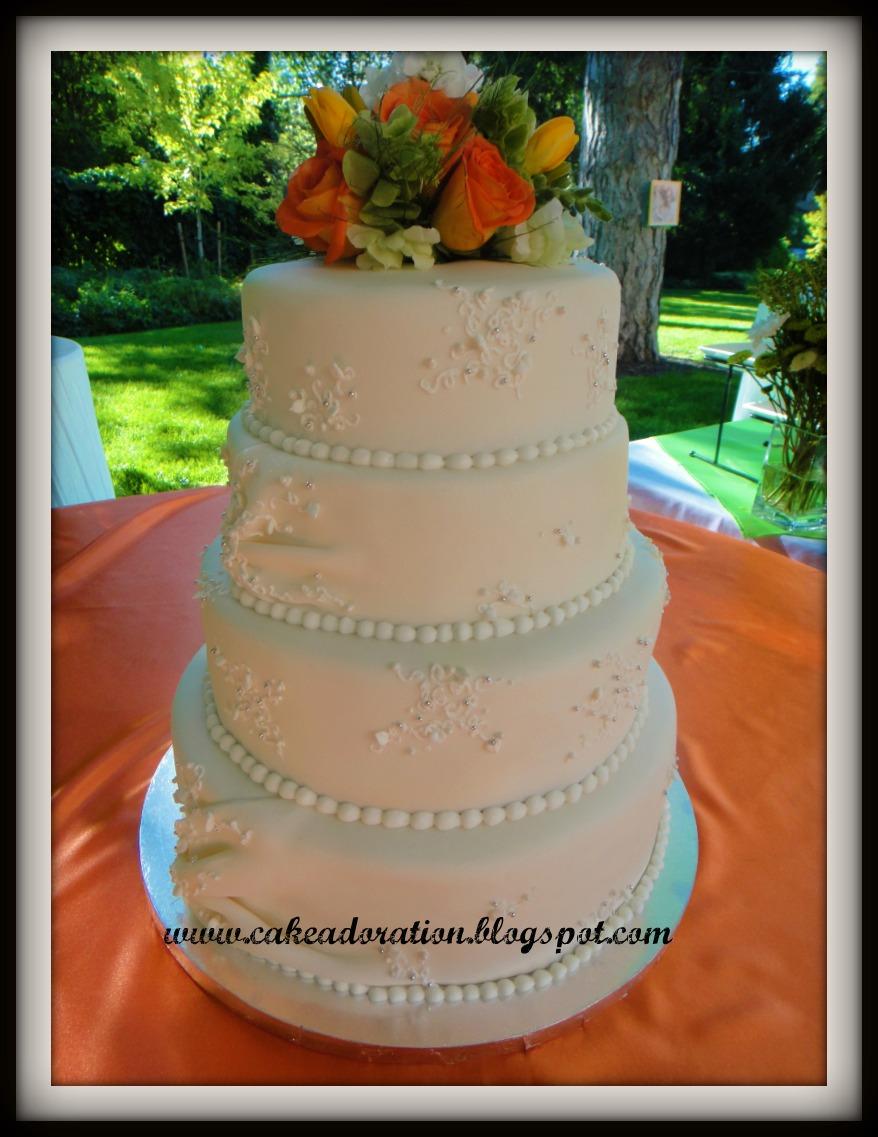This elegant White Wedding