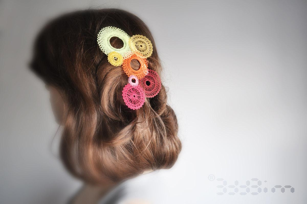 spiro chignon hairclip