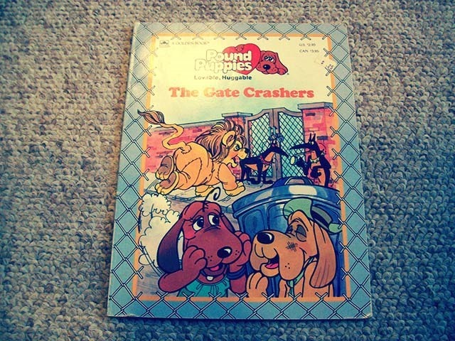 Pound Puppies The Gate Crashers Front Side