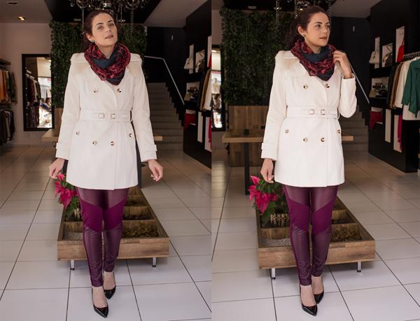 Look sobretudo branco e calça legging courou (9)