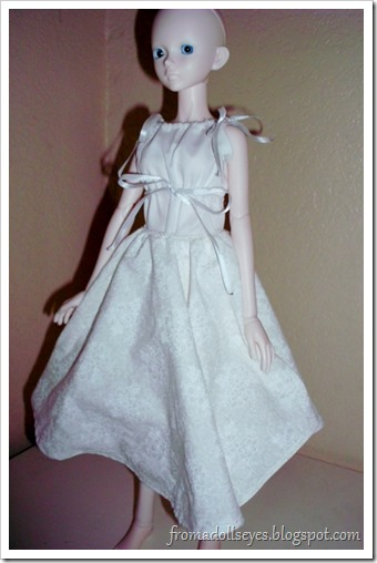 Bad Photo of a Ball Jointed Doll in a Circle Skirt