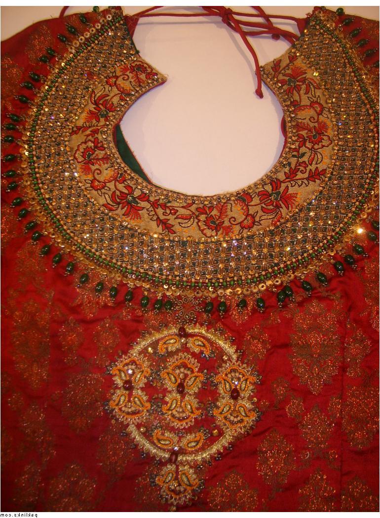 Red Mughal Jamawar