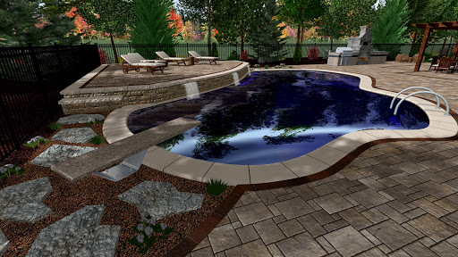Diving Board area during the day