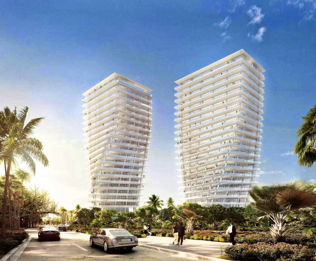 Grove at Grand Bay residences by Big