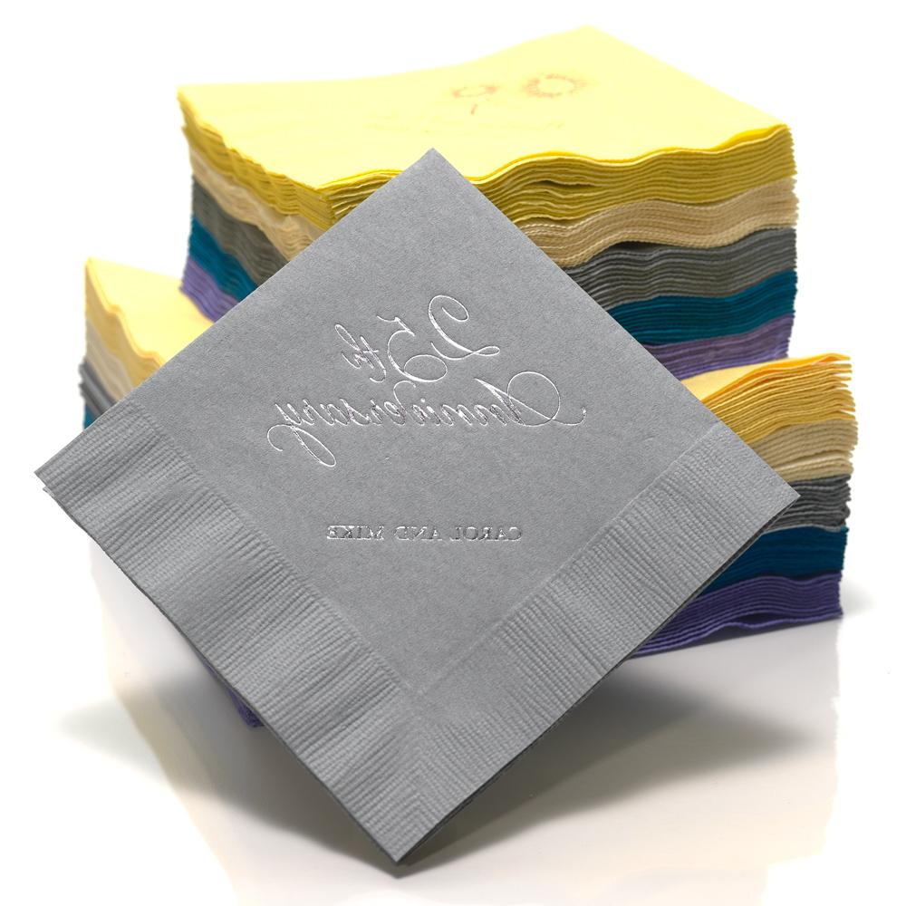 personalized napkins for