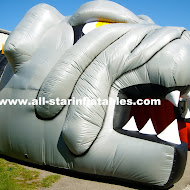 Inflatable Sport Entrance Bull Dog Tunnlel.JPG