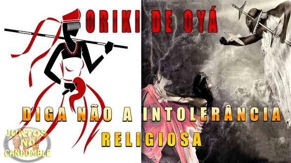 oriki de oyá - oro - reza - tradução - yoruba - yansã - bale - diga não a intolerancia religiosa