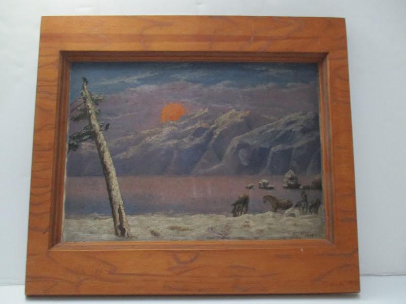 Ellis Levee Landscape Painting