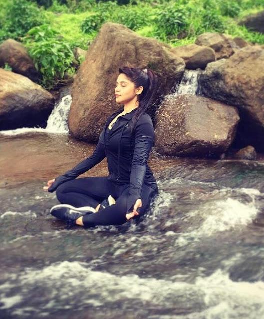 hindu girl sexy yoga