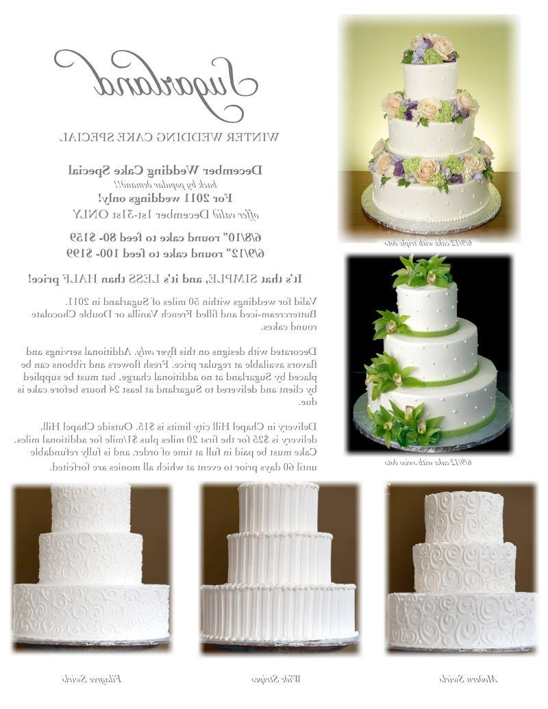 56 Winter Wedding Cake